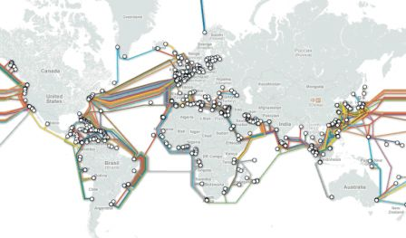 cables sous marin internet